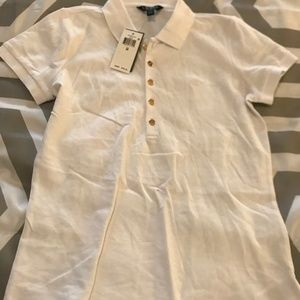 Lauren by Ralph Lauren Short sleeve 5 button Polo